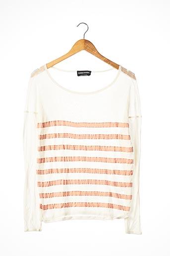 T-shirt manches longues beige SONIA RYKIEL pour femme