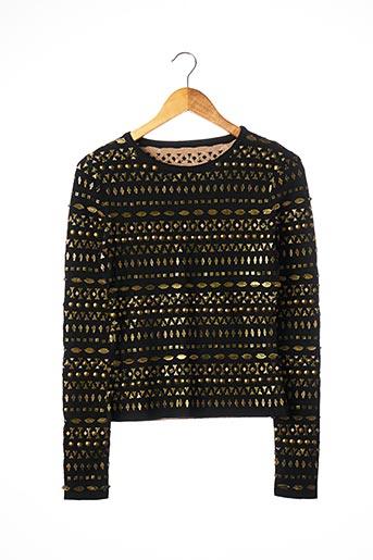 T-shirt manches longues noir ALAIA pour femme