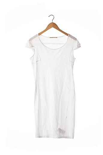 Robe courte blanc MARITHE & FRANCOIS GIRBAUD pour femme