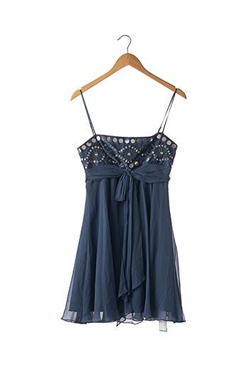 Robe courte bleu BCBGMAXAZRIA pour femme
