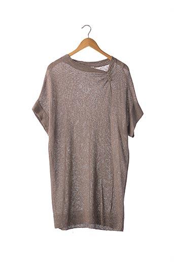 Robe courte gris BRUNELLO CUCINELLI pour femme