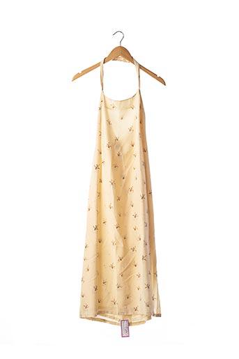 Robe mi-longue beige CHLOE pour femme