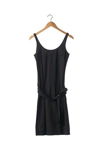 Robe mi-longue noir PAULE KA pour femme