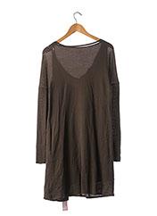 Robe pull marron CHLOE pour femme seconde vue