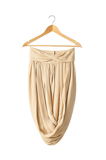 Robe courte beige CHLOE pour femme