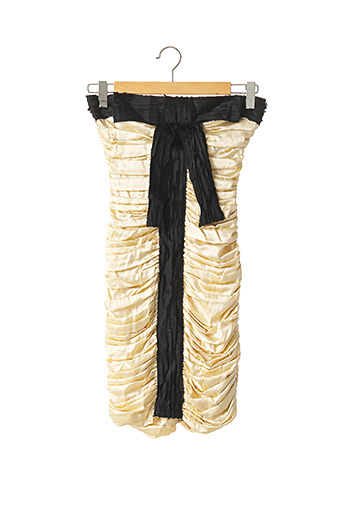 Robe courte beige DOLCE & GABBANA pour femme