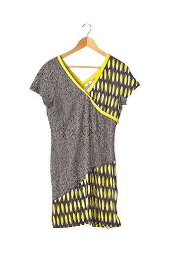 Robe courte jaune CERRUTI 1881 pour femme