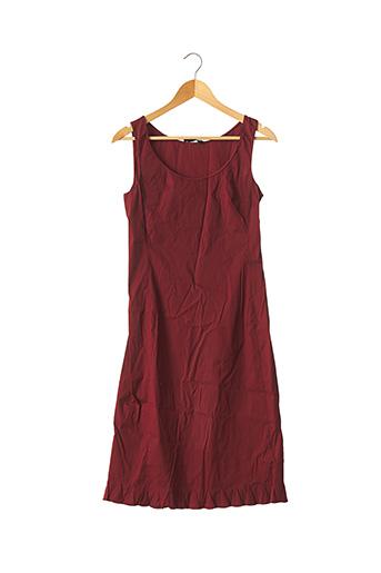 Robe mi-longue rouge PRADA pour femme