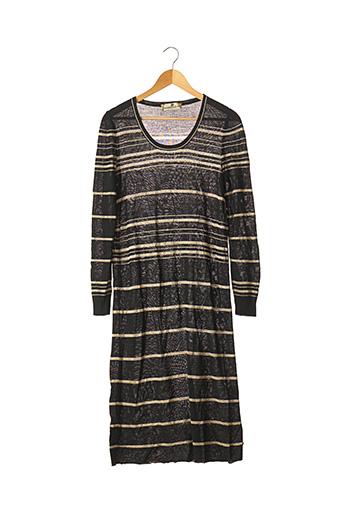 Robe pull noir ALEXANDRA D'EST pour femme