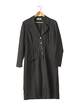 Robe mi-longue gris WEINBERG pour femme
