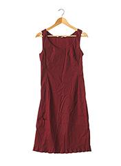 Robe mi-longue rouge PRADA pour femme seconde vue