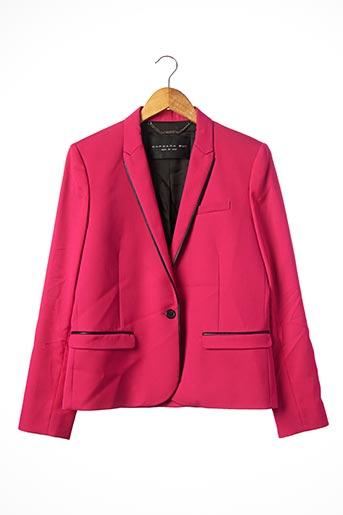 Veste chic / Blazer rose BARBARA BUI pour femme