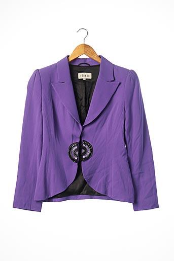 Veste chic / Blazer violet FERAUD pour femme