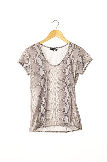 T-shirt manches courtes gris BARBARA BUI pour femme
