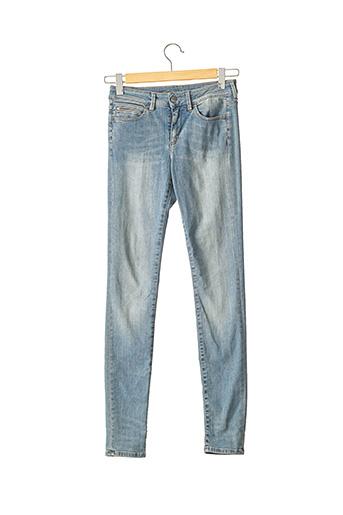 Jeans coupe slim bleu BARBARA BUI pour femme