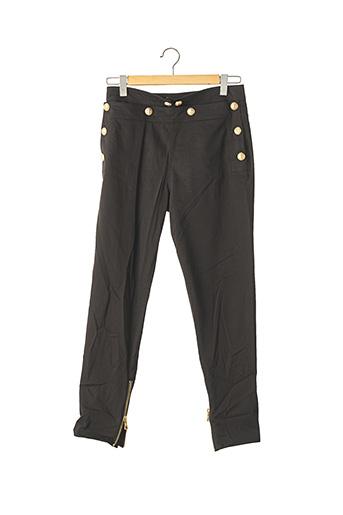 Pantalon 7/8 noir BALMAIN pour femme