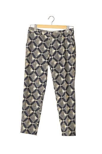 Pantalon 7/8 noir CHLOÉ STORA pour femme