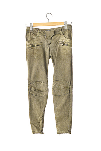 Pantalon 7/8 vert BALMAIN pour femme