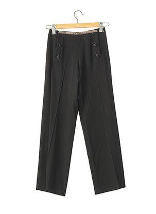 Pantalon 7/8 noir JEAN PAUL GAULTIER pour femme