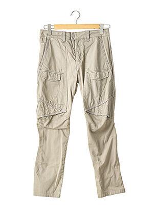 Pantalon casual gris MARITHE & FRANCOIS GIRBAUD pour femme