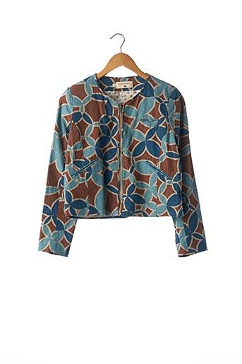 Veste chic / Blazer bleu COTELAC pour femme