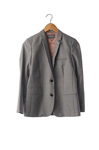 Veste chic / Blazer gris ZADIG & VOLTAIRE pour femme