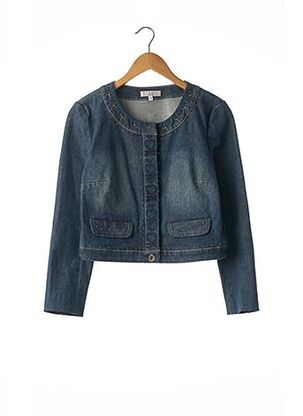 Veste en jean bleu ARMAND VENTILO pour femme