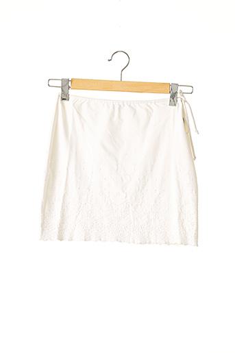 Jupe courte beige ANTI-FLIRT pour femme