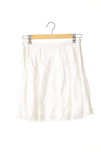 Jupe courte blanc HUGO BOSS pour femme