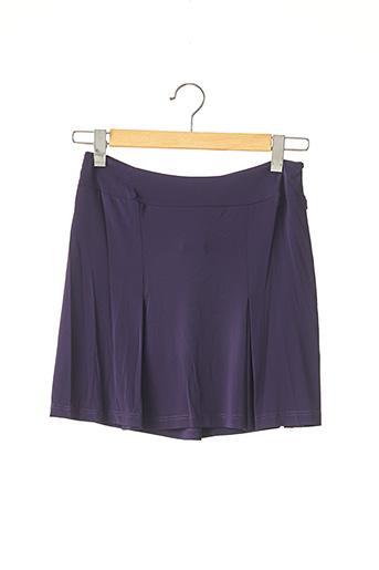 Jupe courte bleu AGNES B pour femme