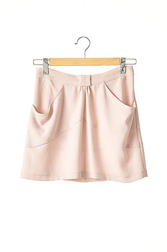 Jupe courte rose SCARLET ROOS pour femme