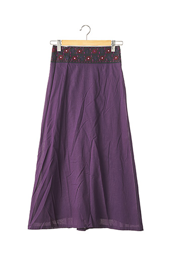 Jupe longue violet ISABEL MARANT pour femme