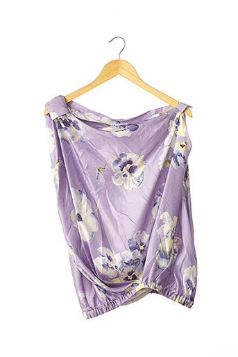 Top sans manche violet BLUGIRL BLUMARINE pour femme