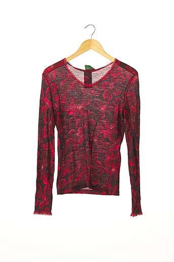 Pull col V rouge KENZO pour femme