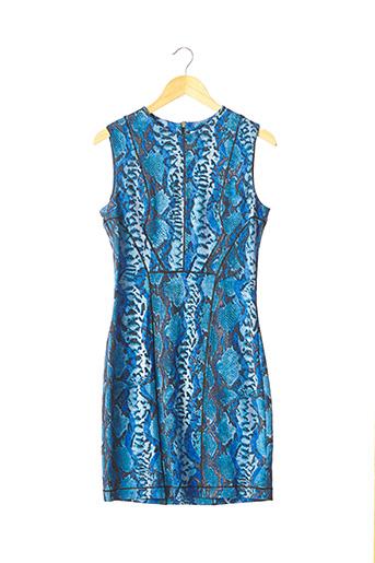 Robe mi-longue bleu BLUMARINE pour femme