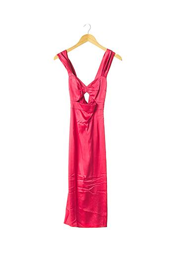Robe mi-longue rose AGENT PROVOCATEUR pour femme