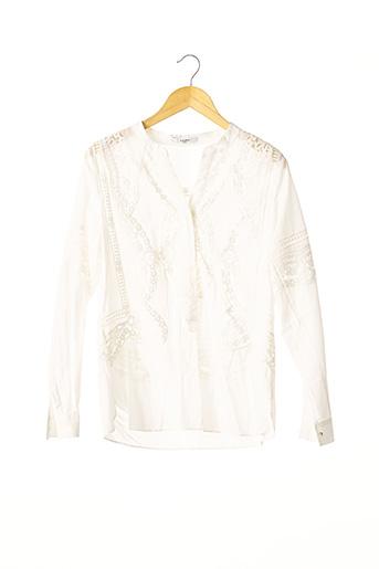 Tunique manches longues blanc ZAPA pour femme