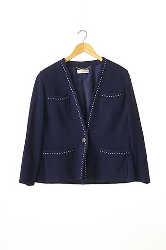 Veste chic / Blazer bleu DESARBRE pour femme