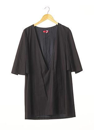 Robe courte noir HUGO BOSS pour femme