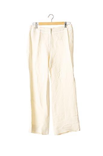 Pantalon chic beige APOSTROPHE pour femme