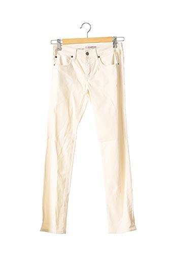 Pantalon casual beige VANESSA BRUNO pour femme