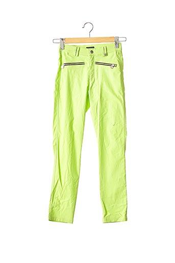 Pantalon casual vert GOLFINO pour femme