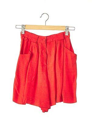 Short rouge EMMANUELLE KHANH pour femme