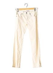 Pantalon casual beige VANESSA BRUNO pour femme seconde vue