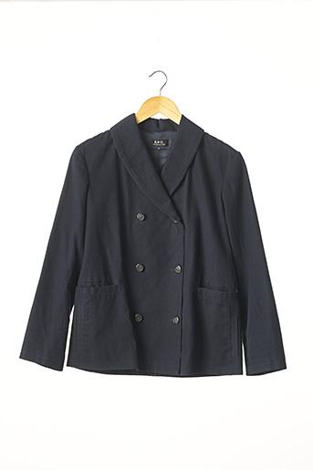 Veste casual bleu A.P.C. pour femme