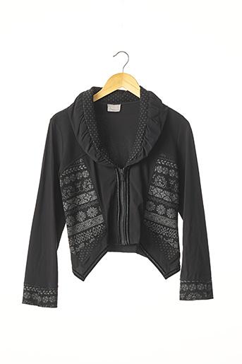Veste casual noir E-BRYDE pour femme