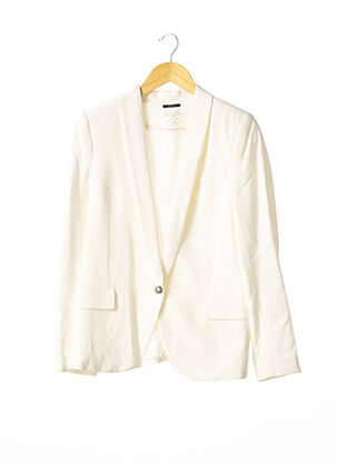 Veste chic / Blazer blanc IKKS pour femme