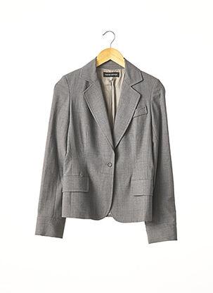 Veste chic / Blazer gris MARCEL MARONGIU pour femme