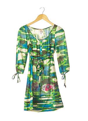 Robe courte vert GALLIANO pour femme
