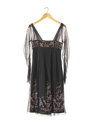 Robe mi-longue noir KENZO pour femme